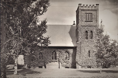An undated picture of the new St.Mary's Chuch, Summerside.