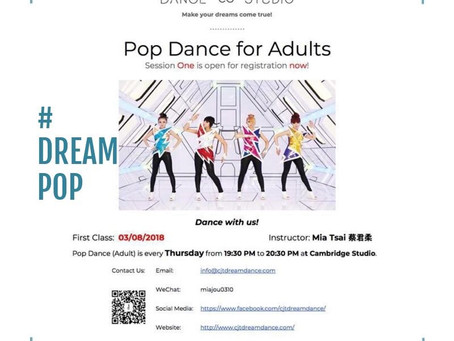 DreamPop is open for online registration!!!