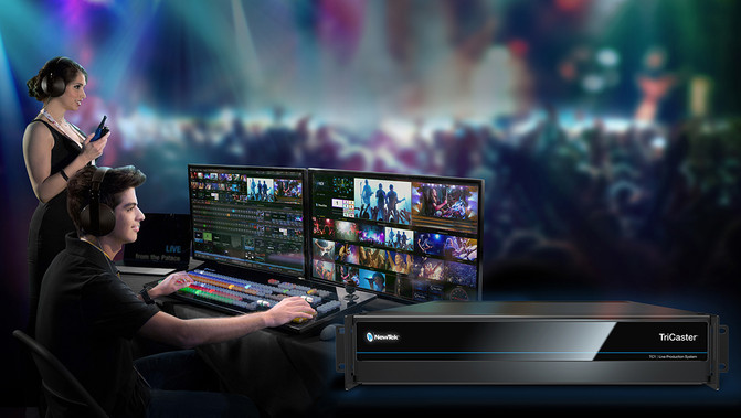 NewTek Introduces TriCaster TC1