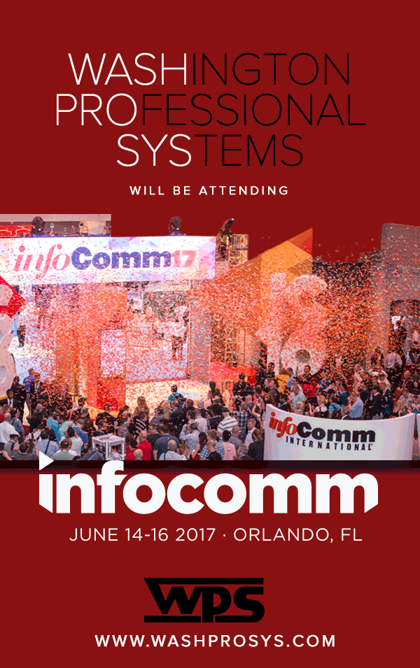 WPS at InfoComm 2017