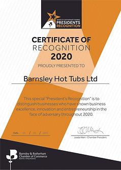 Certificate - Barnsley Hot Tubs Ltd.jpg