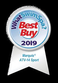 WhatSwimSpa Best Buy Award 2019 Marquis