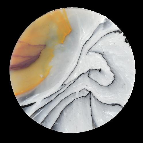 BIRCH ORANGE/PLUM COASTER