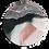 Thumbnail: TORTOISESHELL ROSE QUARTZ COASTER