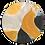 Thumbnail: TORTOISESHELL TANGERINE PLATE