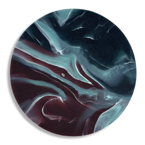 MULBERRY AGATE COASTER