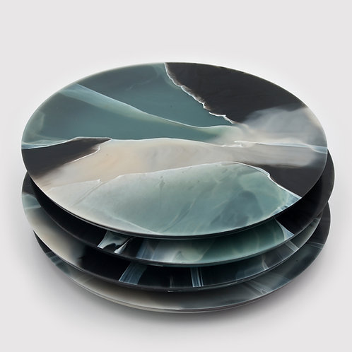 TORTOISESHELL GLACIER PLATE
