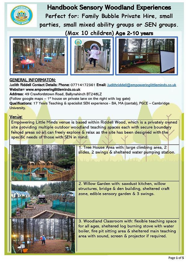 Handbook Family Bubble Private Hire - se