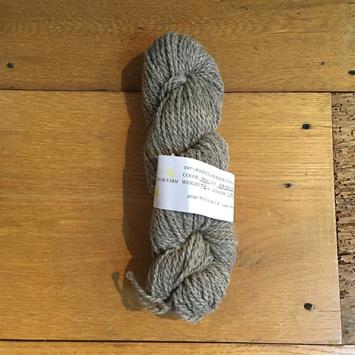 Romney-Border Leicester Charcoal Grey 3 ply HEAVY WORSTED