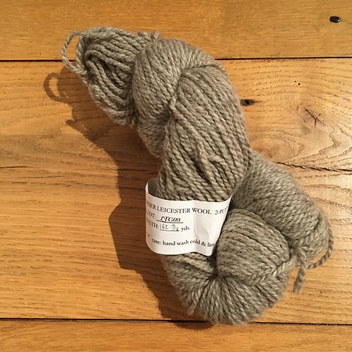 Romney-Border Leicester Light Grey 2-ply WORSTED