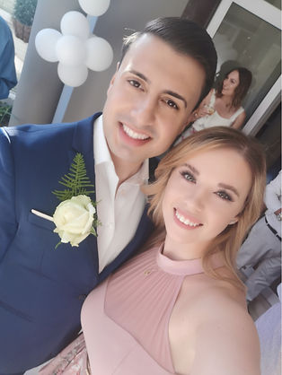 Megan and Cosmin