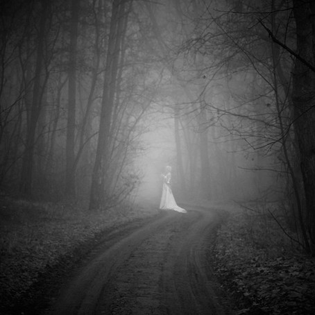 The Woman in White, No not a paranormal, but the Worlds First Great Mystery Novel