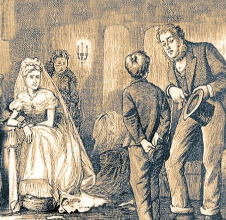 Great Expectations  by Charles Dickens, a tale of misfortunes turned into riches, but with a twist