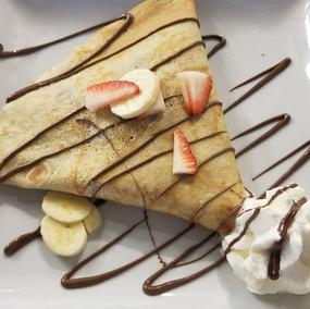 Nutella w/ Banana & Strawberry
