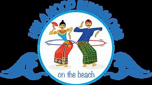 Logo of Hula Hoop Bungalows on the Beach on Gili Gede Island, Lombok, Indonesia