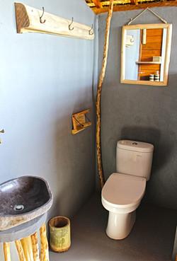 Bathroom in room of Hula Hoop