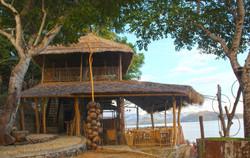 Seaview restaurant Hula Hoop, Lombok