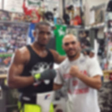 Sparring was great today man I performed