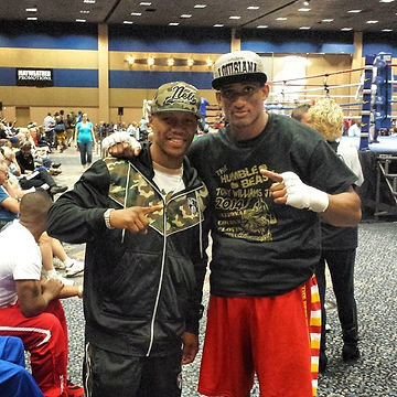 Spoke with Zab Judah last night after my