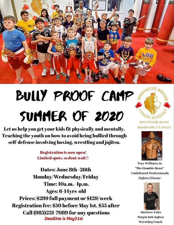 Bully Proof Camp  Summer of 2020.jpg