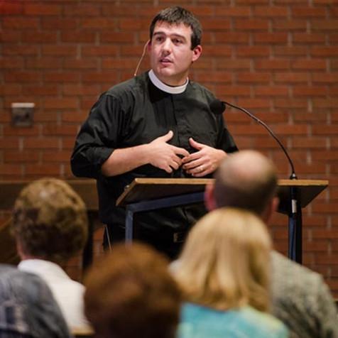 Pastor Bryan Wolfmeuller