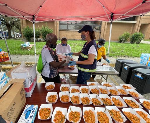 Post Ida relief efforts