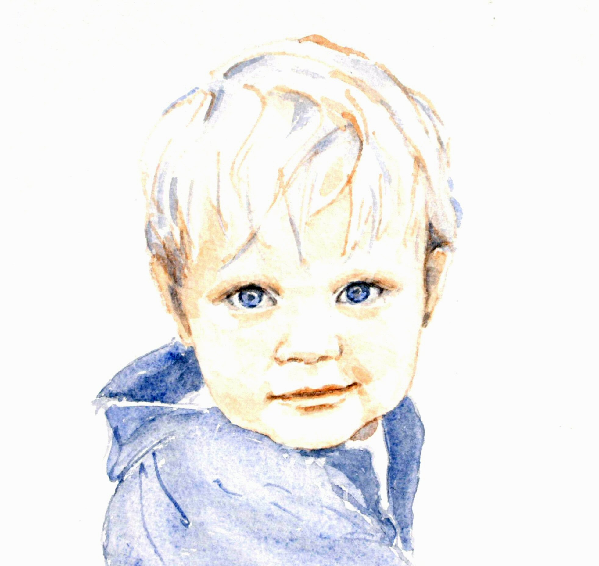 Olivier - Watercolour (23cmx24cm)