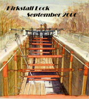 Kirkstall Lock - September 2000
