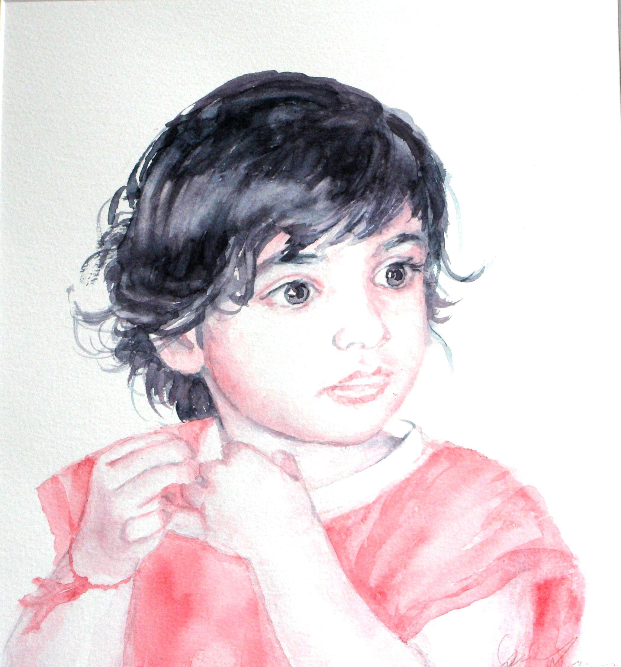 Anmol - Watercolour (28cmx31cm)