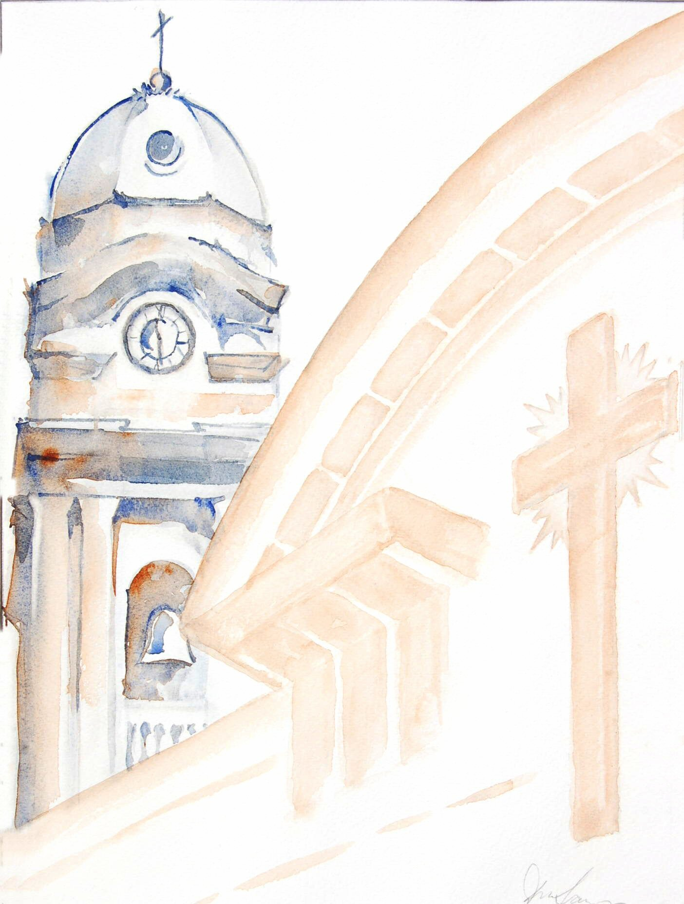 Cathedral of St Mary the Crowned - 29cmx39cm