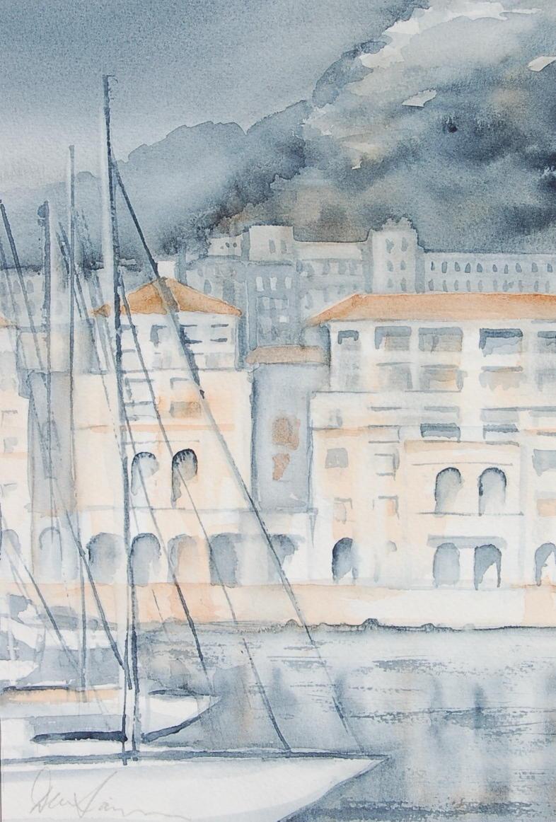 The Waterfront - Queensway Quay No 3 - 19cmx28cm
