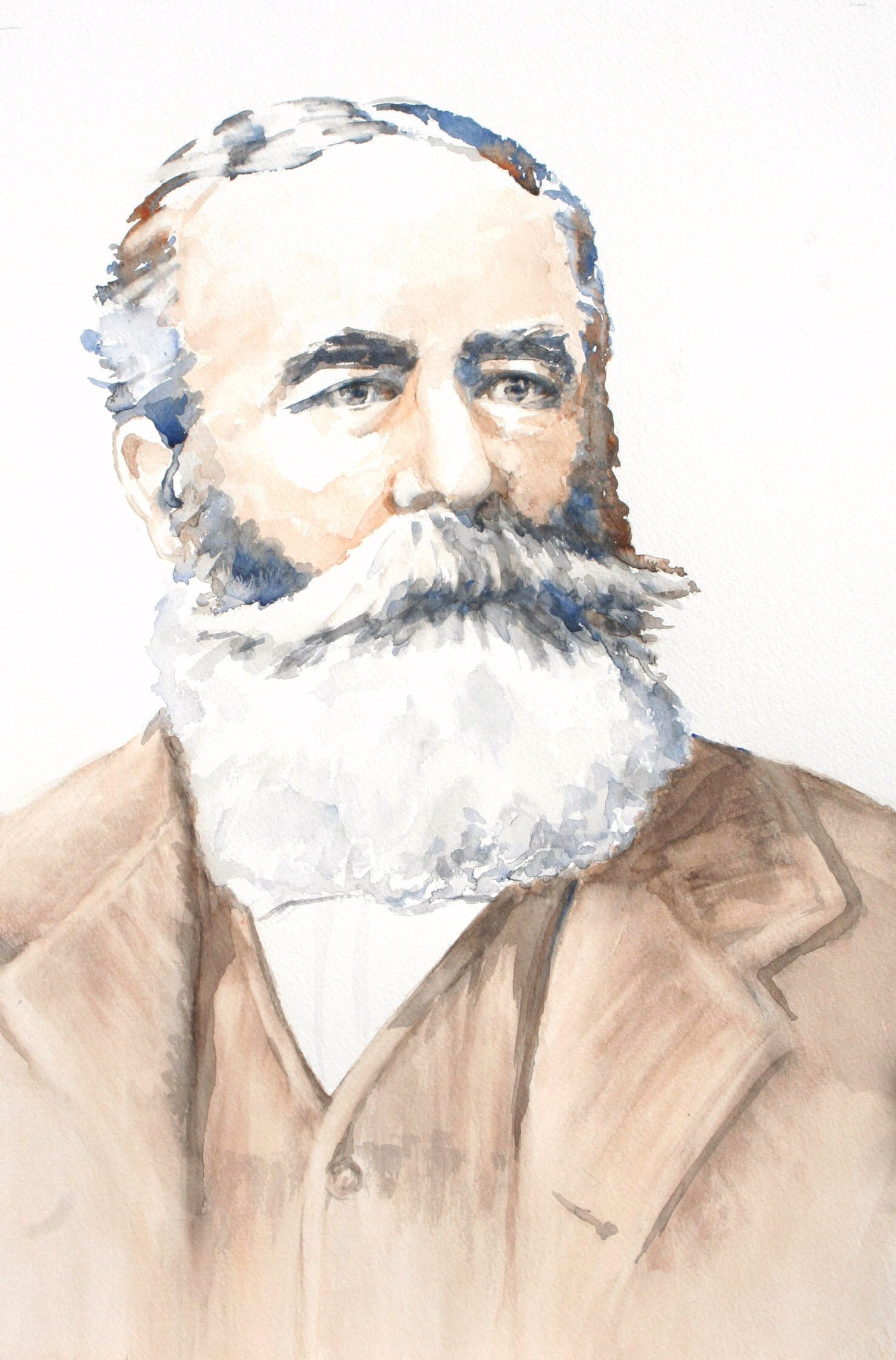 Marcus Horatio Bland - Watercolour (33cmx55cm)