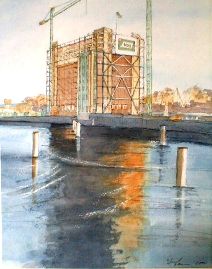 Baltic Mill - Gateshead - 27cmx36cm