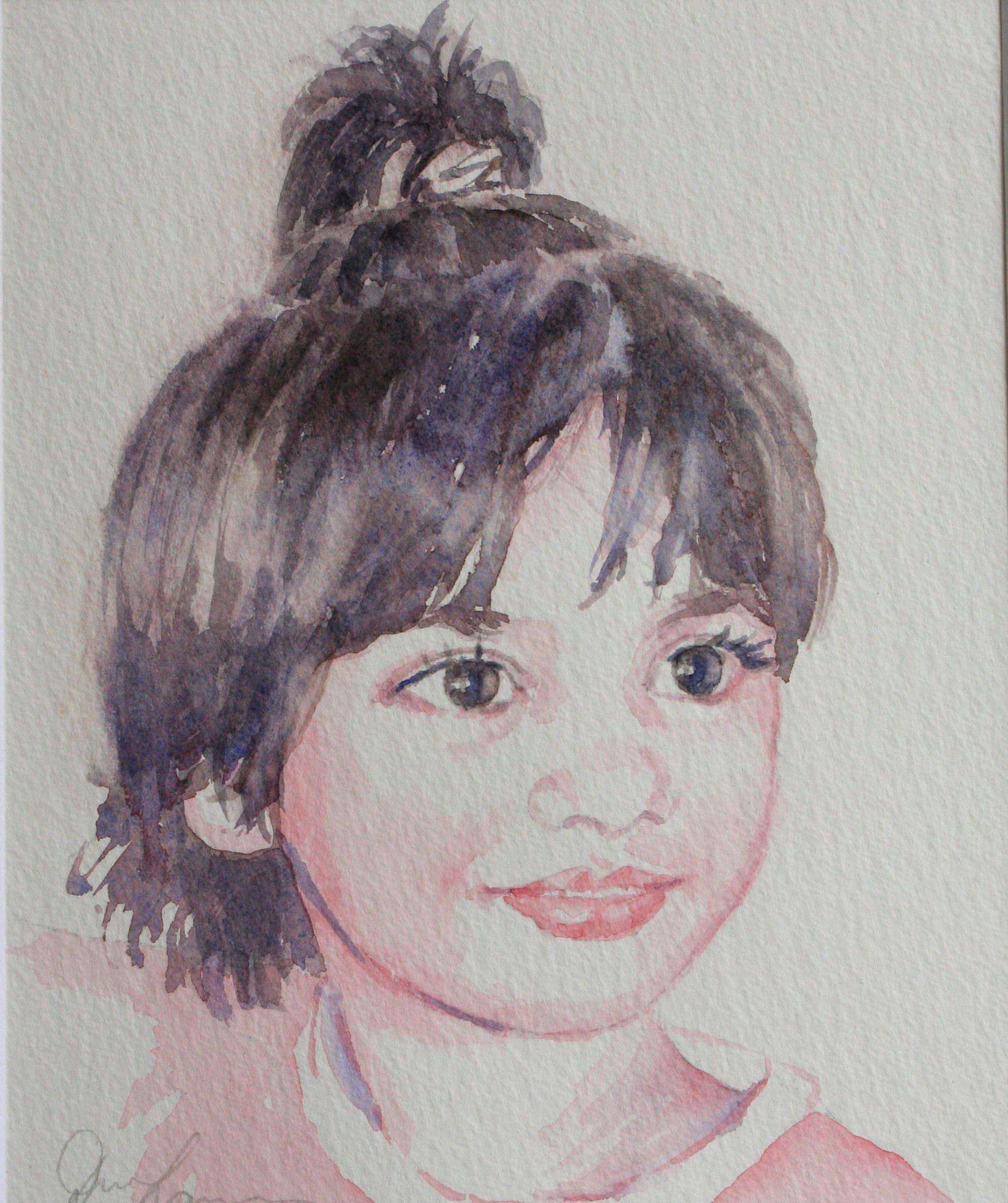 Anmol - Watercolour (17cmx21cm)