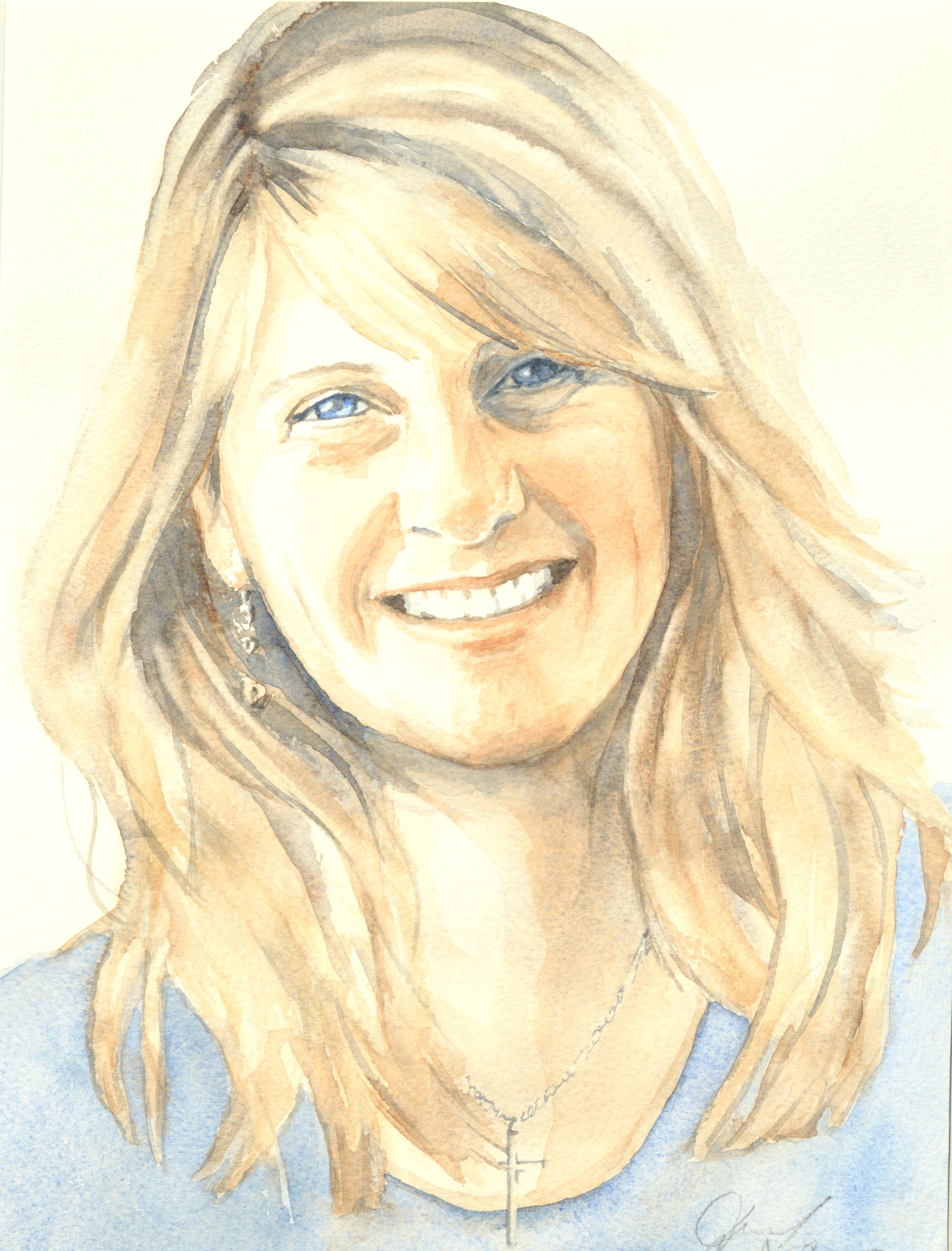 Yvonne Alexander - Watercolour (23cm x 30cm)