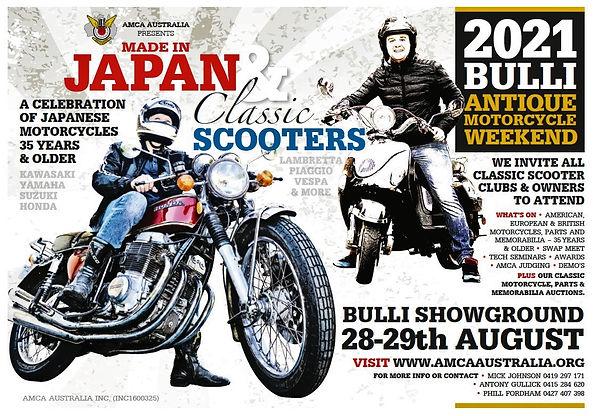 Bulli Antique Motorcycle Weekend 2021 (2