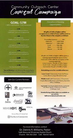 Outreach Center Flyer