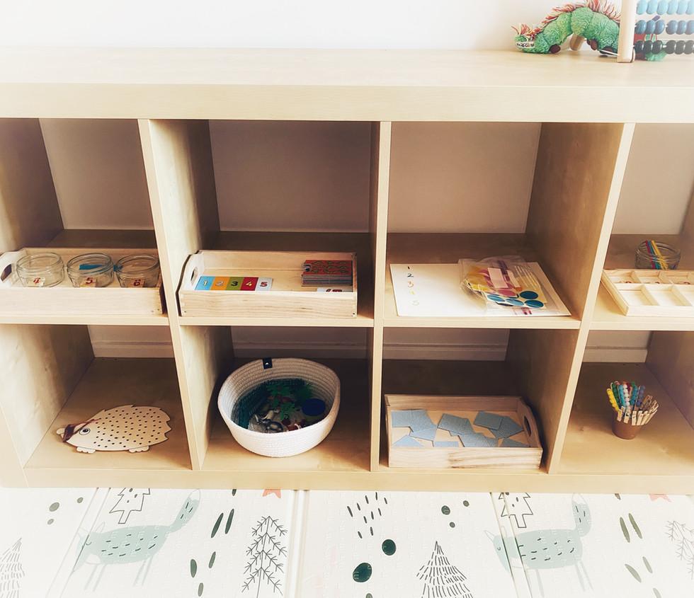 Z's Activity Shelf