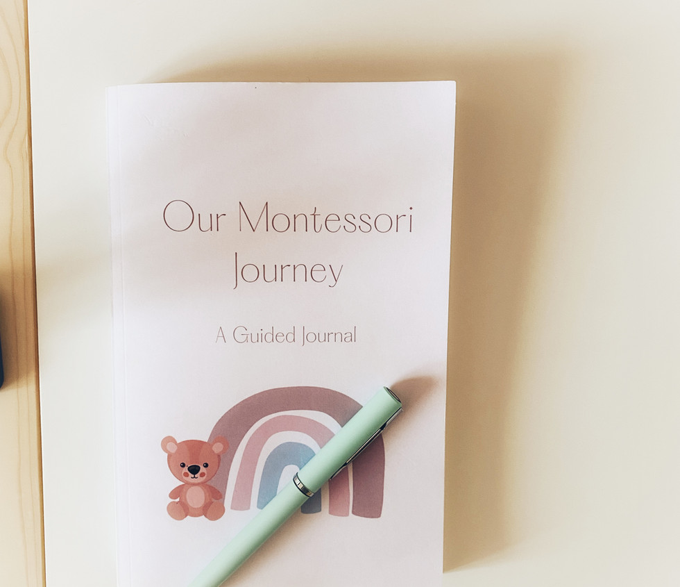 Our Montessori Journey: A Guided Journal