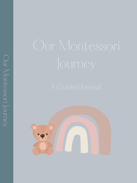 Our Montessori Journey: A Guided Journey for Parents (Lilac Grey, Matte)