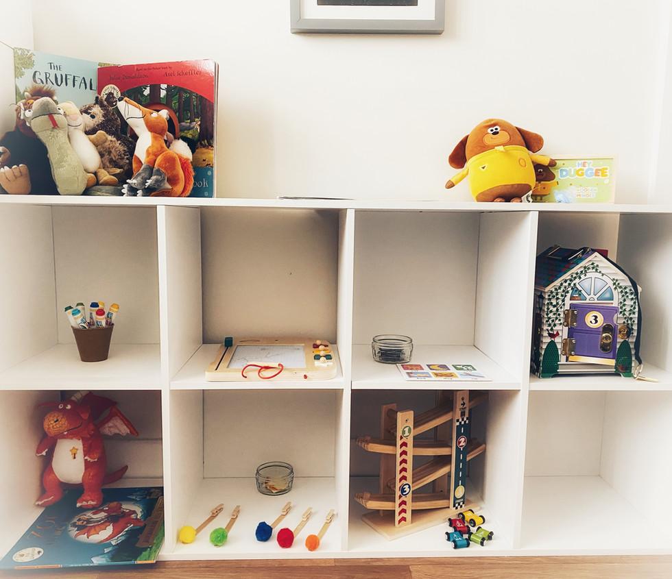 Y's Activity Shelf