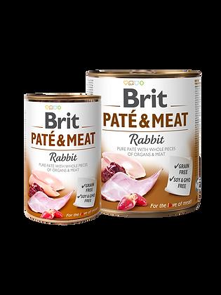 BRIT PATÉ & MEAT - RABBIT