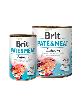 BRIT PATÉ & MEAT - SALMON