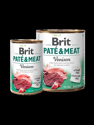BRIT PATÉ & MEAT - VENISON