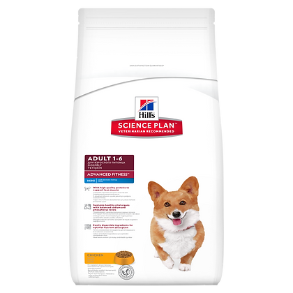 Adult 1-6 Advanced Fitness Mini Dog Food with Chicken