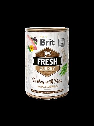 Brit Fresh Turkey with Peas