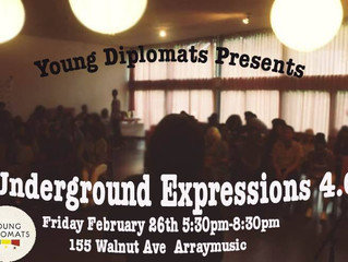 Coming up! Underground Expressions 4.0