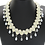 Thumbnail: Pearl Swirl Drop Necklace