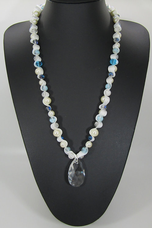 Swarovski Pear Drop Crystal Necklace