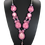 Thumbnail: Rose Quartz and Cat's Eye Pink Necklace